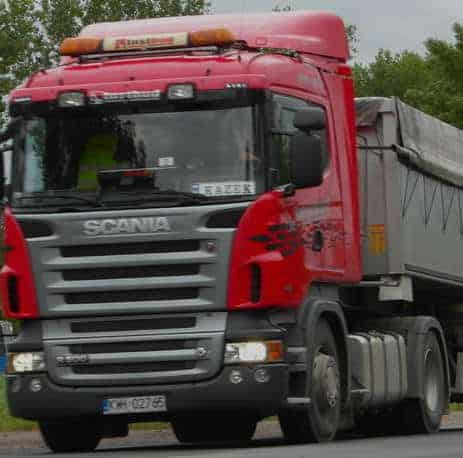 Scania R500 autogas diesel