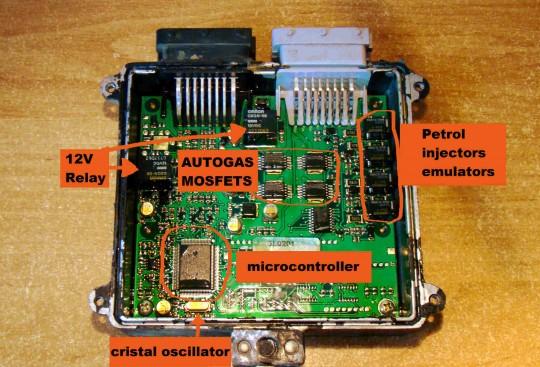 LPG ECU controller